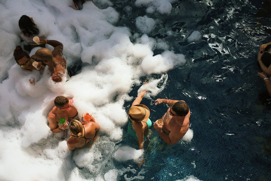 Star-Studded Reasons to Visit Palm Springs: Pool party.